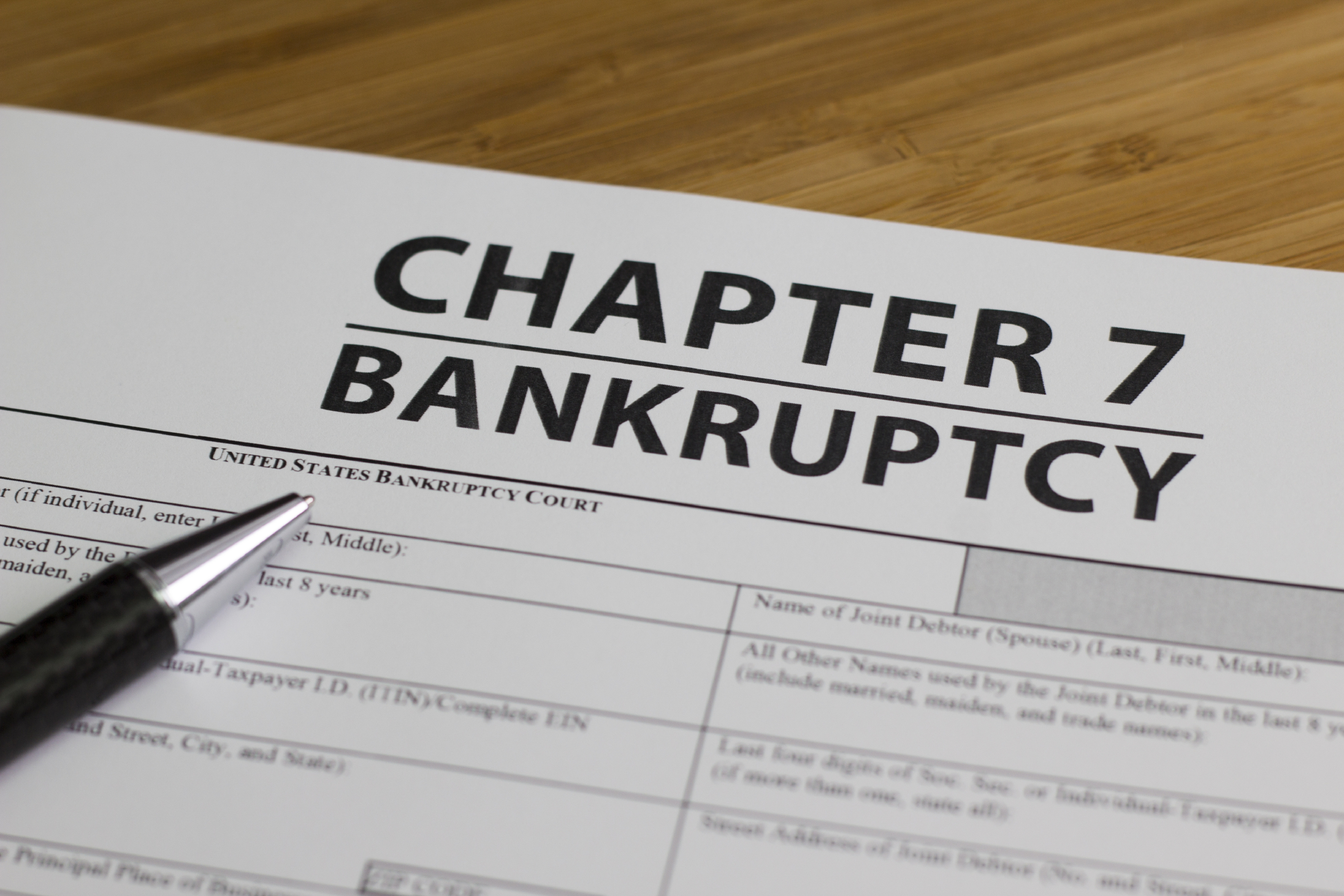 Chapter 7 Bankruptcy in NJ | Law Offices Of Marc A. Futterweit